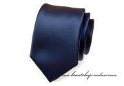 Detail anzeigen - Krawatte navy blue