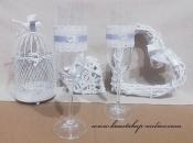 Detail anzeigen - Sektglass mit der Spitzeband