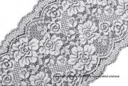 Detail anzeigen - Spitzeschärpe zur Dekoration, Breite 18 cm