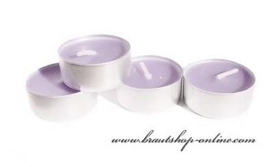 Teekerzen Lavender