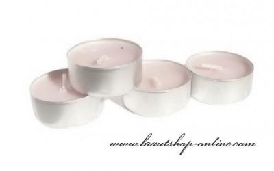 Teekerzen rosa