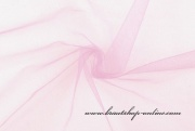 Detail anzeigen - Tüll zur Dekoration rosa