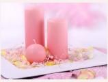 Perlen zur Dekoration in rosa
