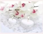 Schöne Perlen zur Dekoration