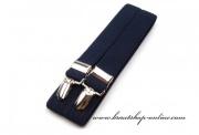 Hosenträger in navy blue X