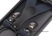 Detail anzeigen - Hosenträger mit Leder, Breite 3,5 cm