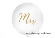 Detail anzeigen - Jumbo Luftballon Mrs - 1 Meter