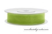 Detail anzeigen - Monofilband Apfelgrün, Breite 12 mm