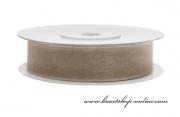 Detail anzeigen - Monofilband latté, Breite 12 mm