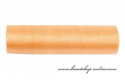 Organzastoff Aprikot, 16 cm Breite