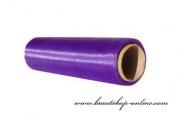 Organzastoff in der Purpurfarbe, 16 cm Breite