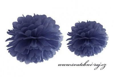 Pom Poms dark blue
