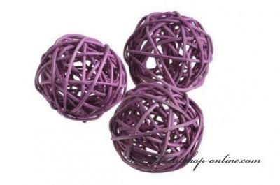 Kugeln Dekoration violett