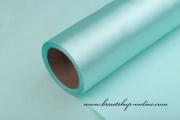 Satinstoff in mint-blue, 15 cm Breite