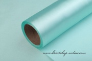 Satinstoff in Rolle mint-blue