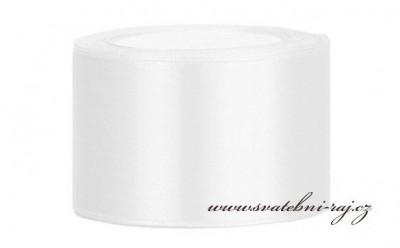 Satinband weiss 5 cm