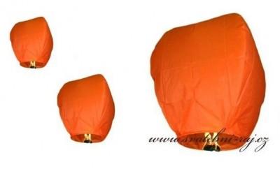 Skylaternen orange