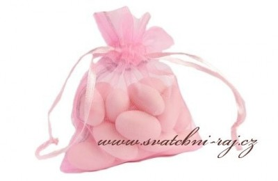 Organzasäckchen in rosa