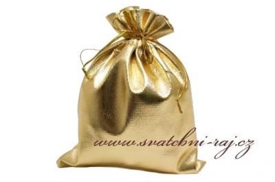 Geschenksäckchen in gold