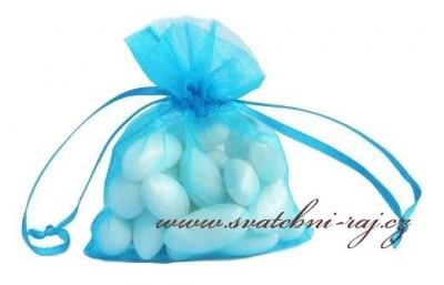 Geschenksäckchen blau