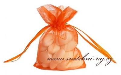 Geschenksäckchen in orange