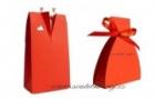 Schachtel Bräutigam in rot