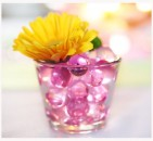 Deko - Gelkugeln, Crystal Soil in lila