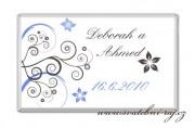 Detail anzeigen - Milchschokolade für die Hochzeitsgäste