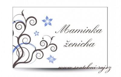 Namensschild Hochzeit