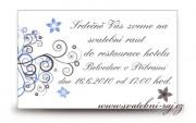 Detail anzeigen - Einladungskarte zum Hochzeitsmahl
