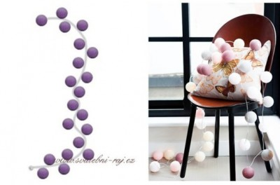 Lichtskette Ballons