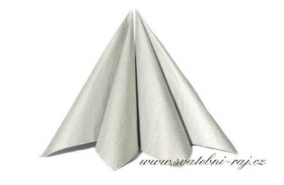 Silberne Servietten