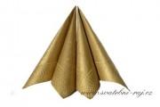 Detail anzeigen - Servietten in gold