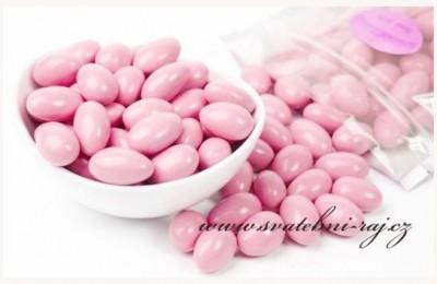 Hochzeitsmandeln rosa