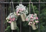Blechdosen für Blumen