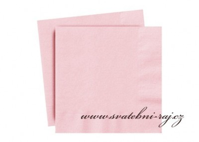Servietten rosa
