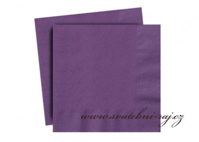 Servietten violett