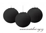 Kugel schwarz, 40 cm Durchmesser
