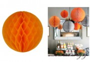 Honeycomb orange, 30 cm Durchmesser