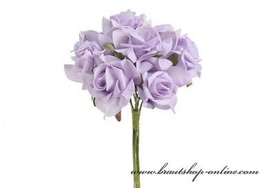 Schaumrosen lila