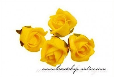 Schaumrose gelb