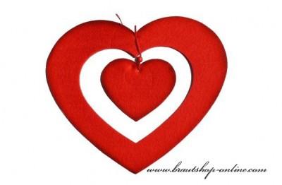 Herz aus Filc