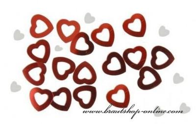 Konfetti Herzform