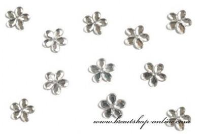 Silberne Blumen