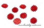 Detail anzeigen - Schöne Textilkonfetti in rot