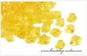 Detail anzeigen - Schöne Eiskristallen in gelb