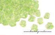Detail anzeigen - Schöne Eiskristallen in hellgrün