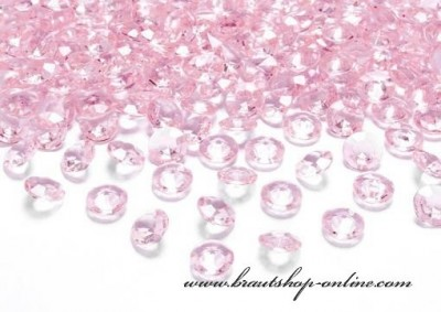 Dekorationskristallen rosa
