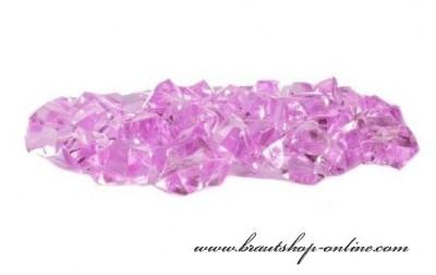 Eiskristallen lila-rosa