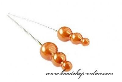 Stecknadel orange